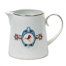 HC7 LB Pot à eau Blanc Médaillon Bleu - 0,9L#