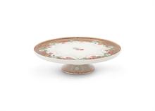 HC2 PIP Petit plat à gâteau Floral2 Cherry kaki - 21cm #
