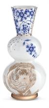 PIP Vase rond Royal Blanc - 7.5x7.5x16cm#