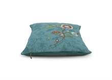 Coussin Floral Spring to Life 2 Fond Vert 50x50cm