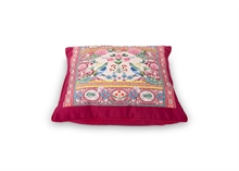 PIP - Coussin Indian festival Floral2 Rouge - 40x40cm