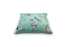 PIP - Coussin Birdy Floral2 Vert - 60x60cm