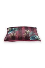 HC PIP - Coussin Leafy Stitch rouge 30x50cm - #