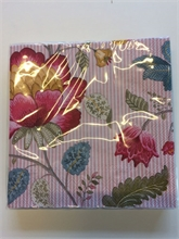 HC4 PIP Serviette en papier Flo Fantasy/Bloom Rose - 16x16x2.5cm#