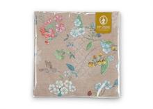PIP Serviettes en papier Floral2 Hummingbirds kaki