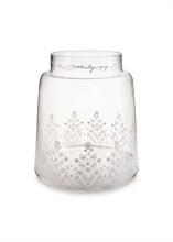 PIP Vase Floral Transparent sérigraphié - 30.5cm