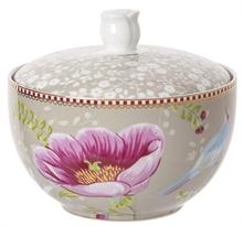 HC3 PIP Pot à cotons Chinese Garden Kaki#