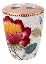 Porte Brosses à dents Floral Fantasy Blooming tails Rose blanc