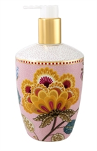 Distributeur savon liquide Floral Fantasy Blooming tails Rose blanc
