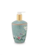 PIP - SDB Distributeur savon liquide Floral2 Good Morning Bleu