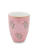 PIP Verre à dents / Grand mug Floral2 Rose - 30cl