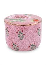 PIP Pot à coton Floral2 Rose - 11,5cm