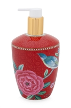 HC3 PIP - SDB Distributeur savon liquide Floral2 Good Morning Rouge - 440ml