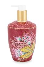 PIP - SDB Distributeur savon liquide Jambo Flower Rouge 440ml