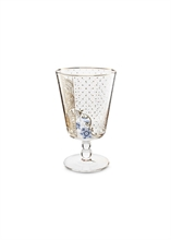 PIP - Verre à Pied PM Golden Flower Royal verrerie - 36cl