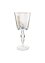 PIP - Verre à Pied GM Golden Flower Royal verrerie - 36cl