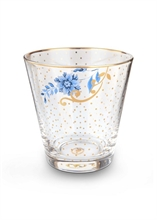 PIP - Verre à eau Golden flowers Royal verrerie - 27cl