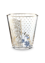 HC2 PIP Verre à eau Golden flowers Royal verrerie - 27cl#
