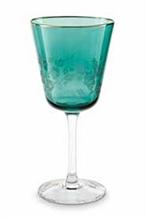 HC PIP - Verre a vin Gravé vert Blushing Birds - 250ml - #
