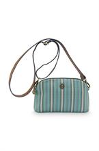 PIP - BAG Sac bandoulière Small Blurred Lines Vert 22x6x13,5cm