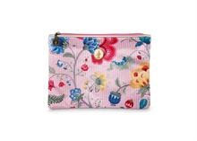 HC4 PIP Cosmetic Flat Pouch Medium Fantasy & Blooming Tails Rose#