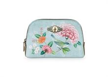 HC3 PIP - SDB Cosmetic Bag Small Floral2 Good Morning Bleu - 19x12x6cm