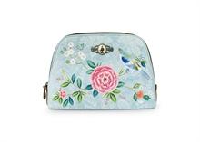 HC3 PIP - SDB Cosmetic Bag Medium Floral2 Good Morning Bleu - 24x16,5x8cm