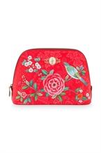 HC3 PIP - SDB Cosmetic Bag Medium Floral Good Morning Rouge - 24/17x16.5x8cm