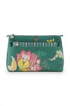 PIP - SDB Cosmetic Bag Combi Jambo Flower Vert 26x18x7,5cm/22x13x1cm