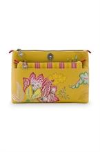 PIP - SDB Cosmetic Bag Combi Jambo Flower Jaune 26x18x7,5cm/22x13x1cm