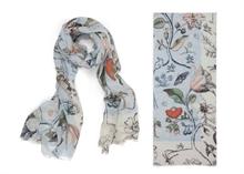 HC5 Pip Etole Floral Spring to Life  Laine entrelacée Bleu - 180x70cm#