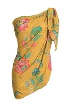 PIP - HW Alice Pareo Jambo Flowers Jaune 180x100cm - SS20