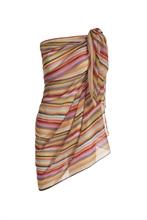 PIP - HW Alice Pareo Rainbow Stripe Multi 180x100cm - SS20