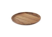 HC5 VTW Basic Assiette présentation bois acacia dia 31.5cm #