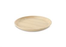HC5 VTW Basic Assiette plateau bois caoutchouc dia 20 cm #
