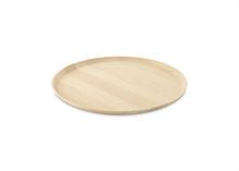 HC5 VTW Basic Assiette présentation plateau bois caoutchouc dia 31.5cm #