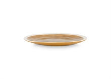HC5 VTW Assiette plate forest Moutarde finition craquelé 26.5cm #