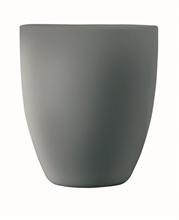 Mug sans anse gris finition craquelé