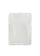 VTW SS18 Torchon coton lin rayures Gris clair - 50x70cm