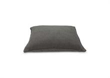 Coussin coton - lin gris 50x70cm