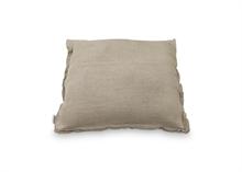 Coussin coton - lin naturel 50x50cm