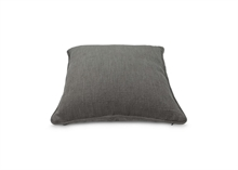 Coussin coton - lin gris 50x50cm