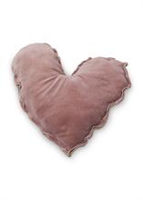 HC5 VTW FW18 Coussin coeur Velvet Rose 50 cm #