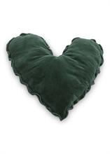 HC5 VTW FW18 Coussin coeur Velvet Vert 50cm #
