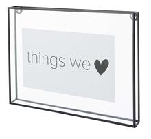 HC5 VTW Basic Cadres photos métal transparent #