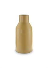 Vase métal Forest Moutarde 35cm
