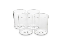 Coffret de 4 verres long drink 8.5x11cm