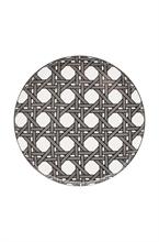 DFL Assiette plate Webbing Gris 26.5cm