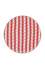 HC2 DFL Assiette présentation Lemon Grass Rouge 32cm - #