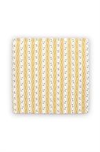 DFL Serviette tissu Lemon Grass Jaune 35x35cm